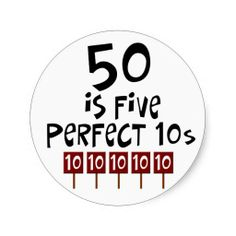 50th birthday gifts, 50 is 5 perfect 10s! sticker This site is will advise you where to buyThis Deals          50th birthday gifts, 50 is 5 perfect 10s! sticker Online Secure Check out Quick and Easy...