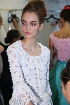 Outstanding Crochet: Oscar de la Renta. Crochet 2013