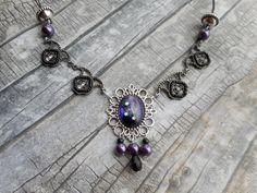 Victorian necklace / Victorian jewelry by Liesbeth Visscher JHFWBeadsAndFindings