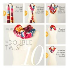 Tying Scarves (credit to Coldwater Creek for this instruction)