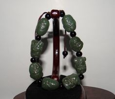 China Certified Nature Nephrite Hetian Jade Eight Immortal Bangle Bracelets Bangle Bracelets, Bangles, Hand Sculpture, Eight, Jade, China, Drop Earrings, Pendant, Antiques