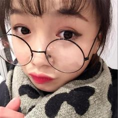 31070ede11 Unisex Vintage Round Reading Glasses Metal Frame Retro Personality College  Style Eyeglass Clear Lens Eye Glasses Frames
