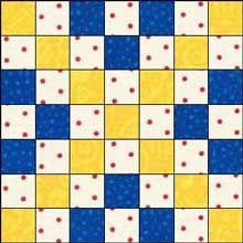 Triple Irish Chain Quilt Blocks And Patterns