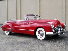 1948 Buick Roadmaster Convertible Maintenance of old vehicles: the material for new cogs/casters/gears/pads could be cast polyamide which I (Cast polyamide) can produce Convertible, Retro Cars, Vintage Cars, Vintage Travel, Austin Martin, Cadillac, Buick Roadmaster, Buick Cars, Pt Cruiser