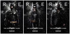 The Dark Knight Rises - 'Rise' posters. #dccomics #superhero #batman #movie #poster