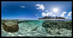 Lady Elliot Island Panorama