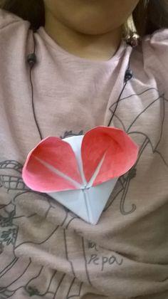 Colgante origami