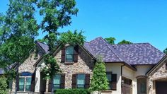 Believe it or not, these are actually metal shingles!  To view more examples, please visit: http://www.schulteroofing.com/bryan-roofing-contractor