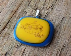 I entered my first challenge on HandmadeMN. Please take a moment and vote for my fused glass pendant! Thanks!