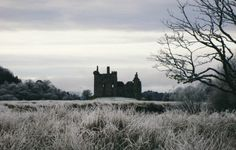 Kilchurn Castle, Scotland (Original photo) I took this picture when I was on a highland day trip. It was such a still winter morning and one of my most treasured memories. Dracula, Captive Prince, Rejoice And Be Glad, Steampunk, Crimson Peak, Scotland Castles, Wuthering Heights, Falling Kingdoms, House Stark