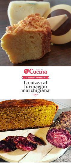 La pizza al formaggio marchigiana