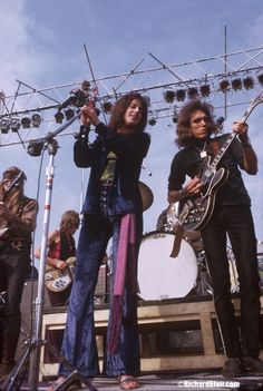 Jefferson Airplane on stage, 1969