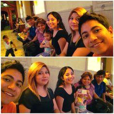 #Juntos en #familia para la misa de #domingo