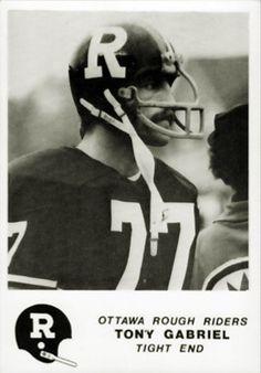 Tony Gabriel - Ottawa - BttO - Better than the Original Football Icon, Football Helmets, Canadian Football League, Grey Cup, Rough Riders, Tight End, Vintage Football, Sports Teams, Ottawa