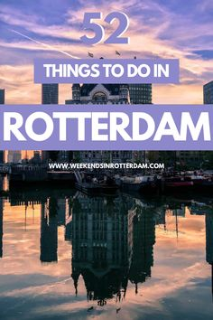 Looking for things to do in Rotterdam? You've come to the right place! In this article you can find the best things to do in Rotterdam, from popular sight seeing spots to lesser known places in our city and with lots of inspiration for fun hangout spots, art, architecture, food and drinks! #Netherlands #Rotterdam #WeekendsinRotterdam #citytrips #activities #thingstodo European Travel Tips, European Vacation, Europe Travel Guide, Travel Guides, Travelling Europe, Europe Destinations, Best Places To Travel, Cool Places To Visit, The Neighbor