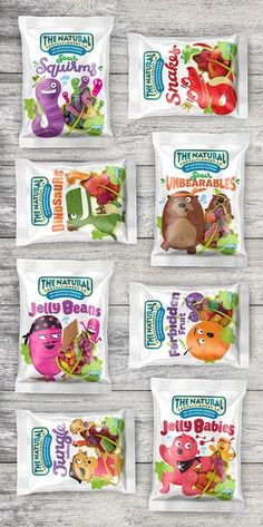 The Natural Confectionary Co. on Behance