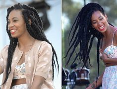 How Pretty are Solange Knowles' Braided Twists?!