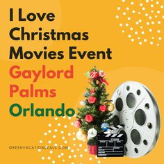 Looking for a fun Christmas event in the Orlando area this holiday season? Then you've got to visit the I Love Christmas Movies multi-sensory holiday pop-up experience! It's new for 2020 & held at the Gaylord Palms Resort in Kissimmee, Florida. It captures key moments from some of your favorite holiday films (Elf, A Christmas Story, National Lampoon's Christmas Vacation, The Polar Express, The Year Without Christmas). It's a great Christmas activity for the whole family! #Christmas…