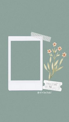 Frame with flowers and a brand brand # # # flowers frame Polaroid Template, Collage Template, Aesthetic Iphone Wallpaper, Aesthetic Wallpapers, Marco Polaroid, Polaroid Picture Frame, Instagram Frame Template, Foto Frame, Overlays Tumblr