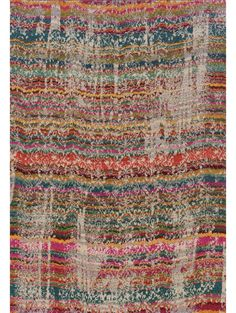 Delphine Rug, Ruby and Teal