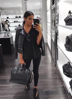To buy: Bleak leather jacket Black tshirt