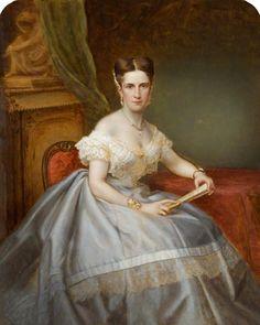 Charlotte Crawshay   by Alexander Bassano