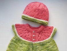 Ravelry: Watermelon Baby Hat pattern by Stitchylinda Designs