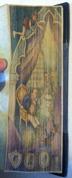 [Fore-Edge Painting] The Posthumous Papers of the Pickwick Club by Dickens, Charles - 1837 Old Books, Antique Books, Vintage Books, Painting Edges, Painting & Drawing, Book Cover Art, Book Art, Historical Artifacts, Beautiful Book Covers