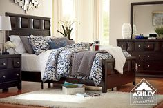 So Comfy!! Chanella Panel Bed - Ashley Furniture HomeStore
