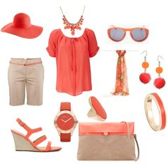 orange  ~~  the perfect Spring color!