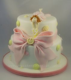 First Birthday Cake by ♥Dot Klerck....♥, via Flickr