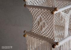 Baby Swing Chair in Macrame Soft Cotton by HangAHammock on Etsy
