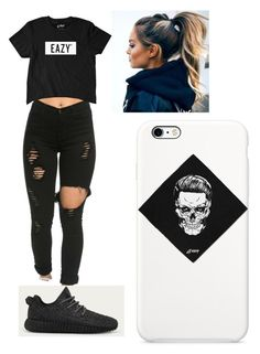 """""""Untitled #238"""" by ilianavaldez on Polyvore featuring adidas"""