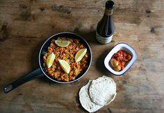 Vegan Butternut Squash Paella Vegan Recipes, Cooking Recipes, Butternut Squash, Paella, Vegetarian, Beef, Ethnic Recipes, Kitchen, Dinner Ideas