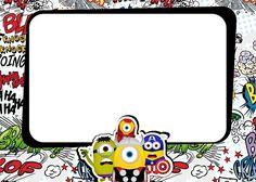 Imágenes-de-Minions-super-héroes-para-etiquetas-invitaciones-marcos-para-fotos-tarjetas-stickers...jpg (600×429)