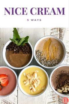 Try these recipes to satisfy your ice cream cravings. Dairy-free and made with a banana base, nice cream is a creamy and cold treat that can take on endless flavor combinations. We tested different options and listed our favorite recipes below. All you need is a blender and a banana for this sweet treat that's better than anything you could buy from an ice cream truck.  | Cooking Light