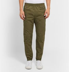 Tim Coppens Tapered Cotton-Blend Trousers £315