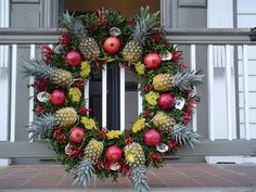 Wreaths of Williamsburg - Christmas 2003 by Sue Topping, via Flickr