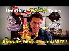 The 3 Unofficial Types of Pokemon - Animals, Monsters and WTF!! - YouTube