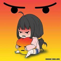 Video memes by IfYourReadingThisYourCute: 2 comments - iFunny :) Anime W, Anime Chibi, Cute Memes, Funny Memes, Angry Emoji, Angry Meme, Anime Meme Face, Anime Expressions, Image Manga