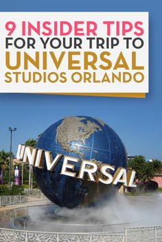 Are you planning a trip to Universal Studios Orlando? Here are 9 insider tips to remember if you're planning a family trip to Universal Studios Orlando.