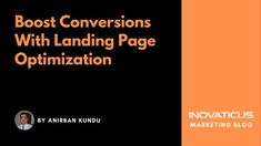 Are visitors coming to a landing page on your website but leaving soon? Here are some landing page optimization techniques that can solve this problem. The post %Boost Conversions With Landing Page Optimization% appeared first on %Inovaticus%.