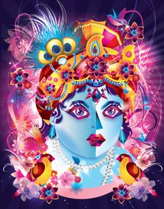 Gopal Krishna by FLY DESIGN STUDIO , via Behance