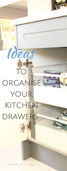 How to get your kitchen drawers organized