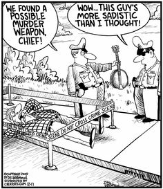 Banjo Cartoon - my sister elizabeth could appreciate this cartoon. I drove her nuts practicing at all hours!