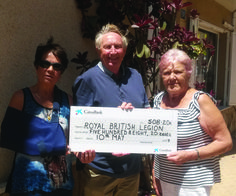 WOODY SINGS FOR ROYAL BRITISH LEGION - http://www.theleader.info/2017/05/28/woody-sings-royal-british-legion/