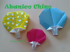 Origami - Papiroflexia. Abanico japonés, muy fácil