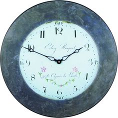Bouquet Wall Clock 49cm Bouquet, Clock, Wall, Furniture, Watch, Bunch Of Flowers, Bouquets, Home Furniture, Clocks