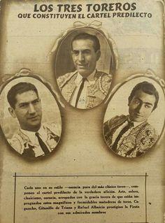 cagancho,gitanillo y Rafael albaicin