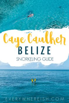 Hol Chan Marine Reserve Snorkel Tour: The Best Snorkeling in Caye Caulker, Belize | Snorkeling in Shark Ray Alley is an unmissable part of the perfect Belize vacation! Click through for a full review. | Caye Caulker Belize Vacation | Caye Caulker Belize Things to Do | Caye Caulker Snorkeling | #belizevacation #belizetravel #cayecaulker #ragamuffin #snorkeling #centralamerica #travel #travelblog #destinationguide #blogpost